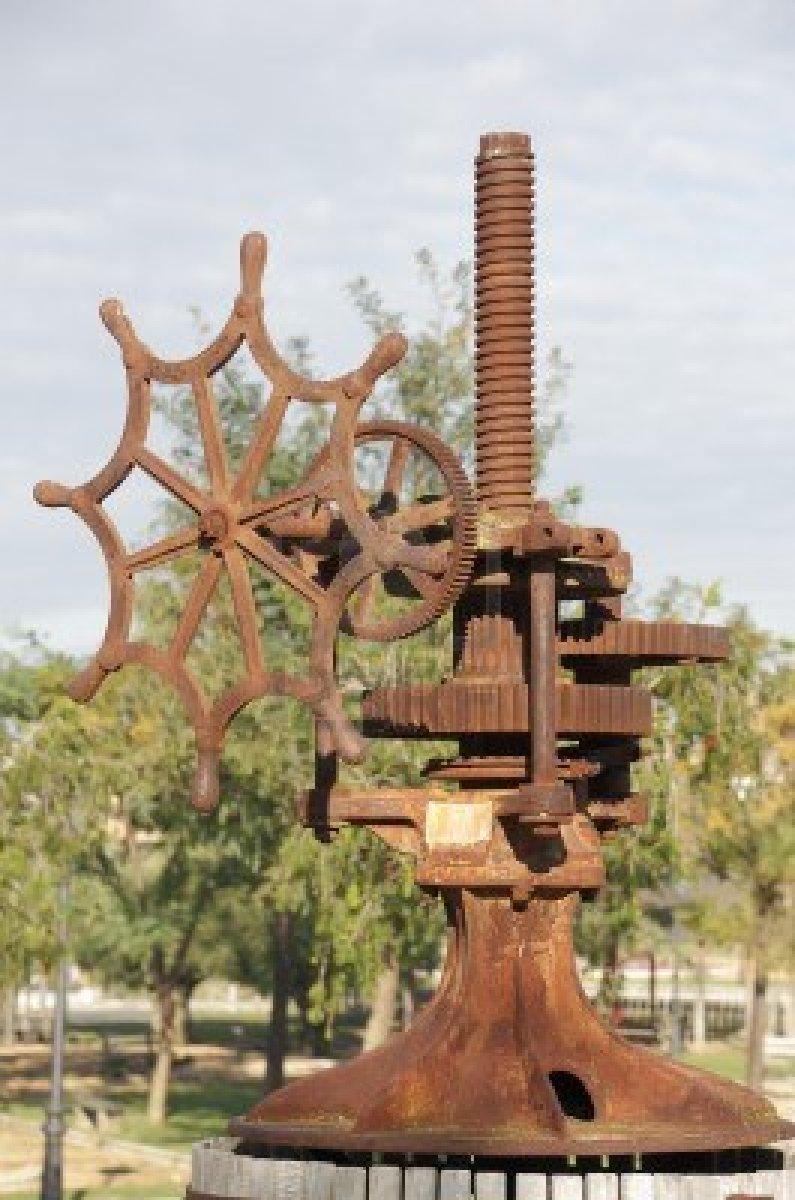 Eski-üzüm-pres-makinası