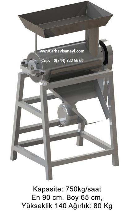 üzüm sıkma makinesi