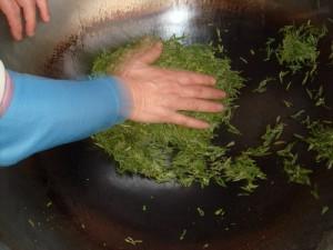 hakiki yeşil çay yapımı