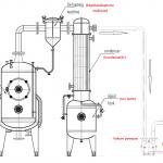 Evaporatör hat şeması