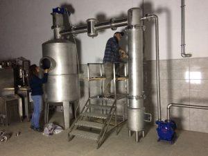 kapalı pekmez reçel kaynatma kazanı 1000 LT (Evaporatör)