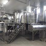 Süt Reçeli üretim hattı